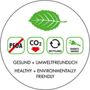 Sartén libre de PFOA y de fabricación ecológica