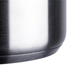 Cazuela industrial alta en acero inoxidable de 16 a 24 cm