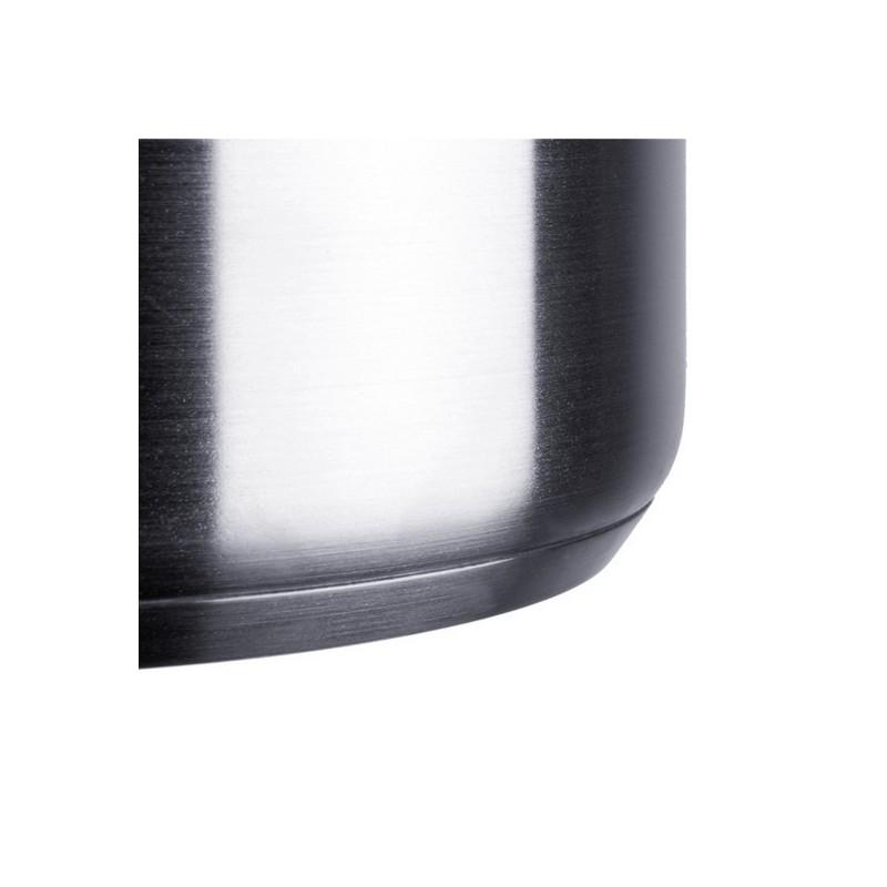 Wok inox 30 cm. y recubrimiento triple capa antiadherente apto para todo tipo de fuegos