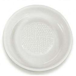 Rallador de cerámica redondo de 9 cm. para jengibre