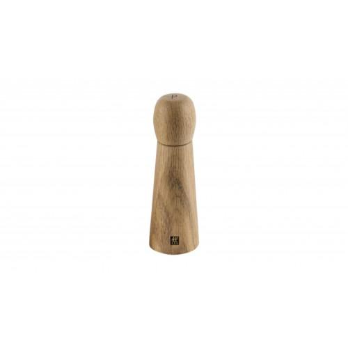 Molinillo de pimienta de madera de roble