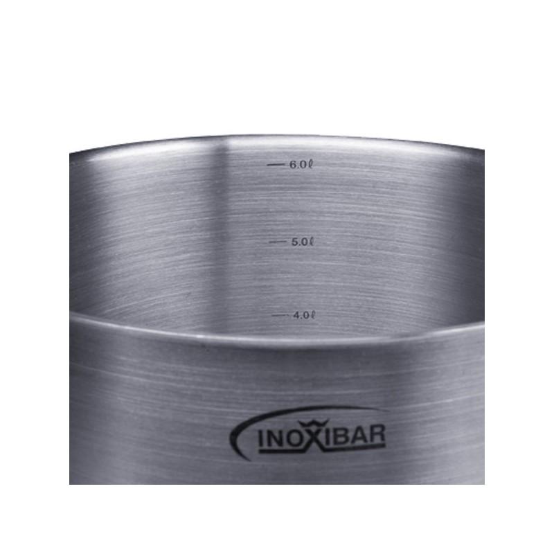 Olla industrial alta profesional de acero inoxidable de 24 for Ollas para cocina industrial