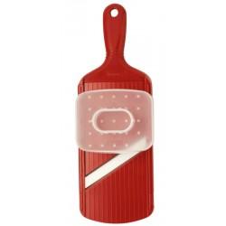 Mandolina de cerámica ajustable de color rojo de Kyocera