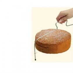 Lira para cortar pasteles de acero inoxidable