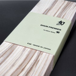 Cuchillo de pan Shun Premier de 22,5 cm.