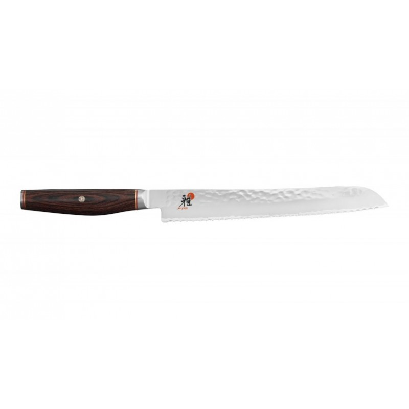 Cuchillo japonés para pan de 23 cm. de Miyabi serie 6000 MCT