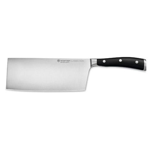 Cuchillo Chef Chino de 18 cm. Wüsthof serie Classic Ikon acero forjado
