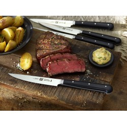 Juego para carne Zwilling: set 4 cuchillos chuleteros