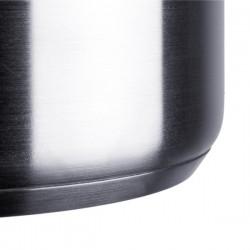 Sartén honda profesional de acero inoxidable con antiadherente libre de PFOA