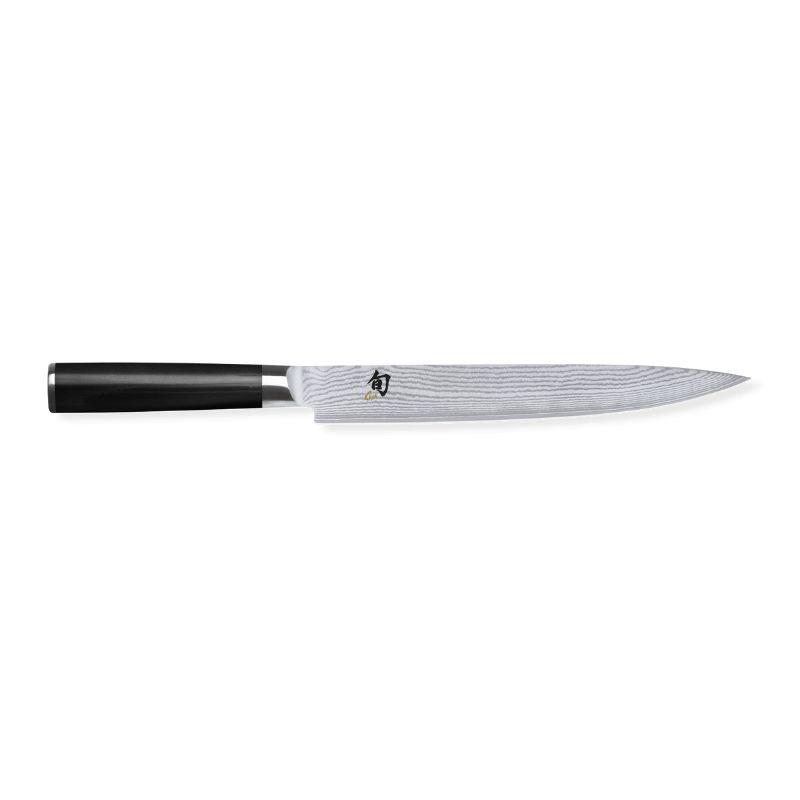 Cuchillo filetear Shun damasco Kai de hoja estrecha de 22.5 cm