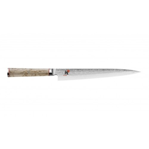 Cuchillo japonés para filetear Sujihiki de 24 cm. Miyabi serie 5000MCD