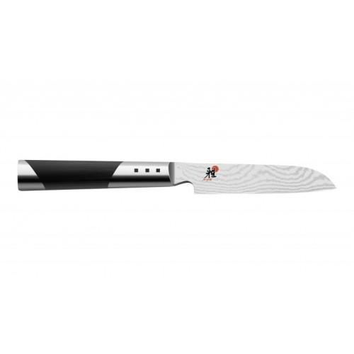 Cuchillo pelador 9 cm. diseño damasquino de 65 capas serie Miyabi 7000D