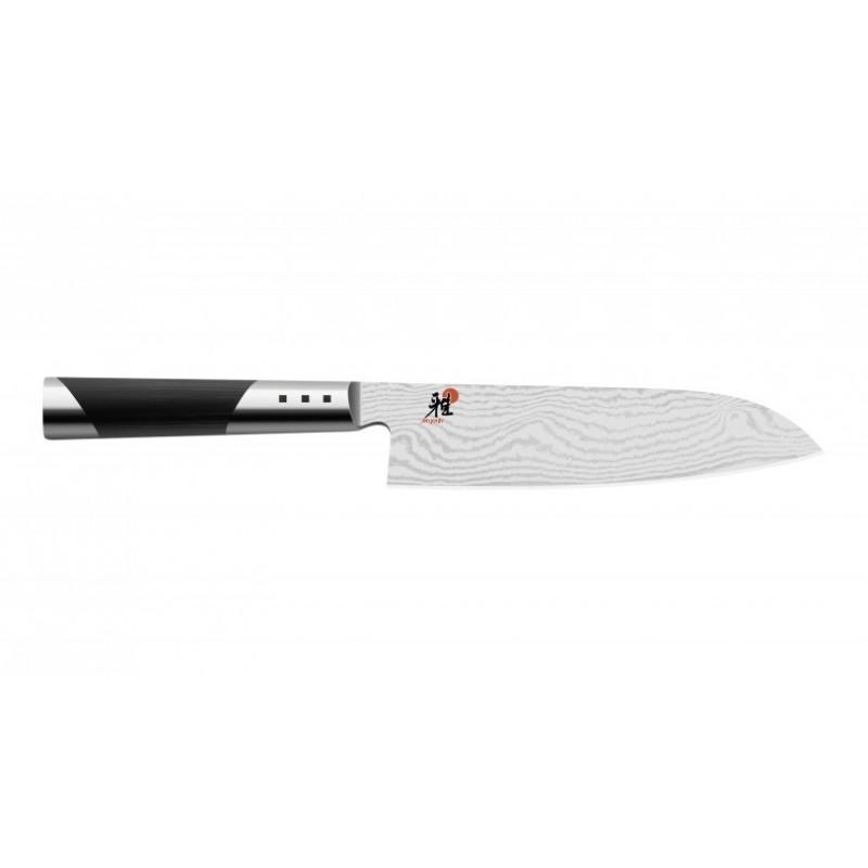 Cuchillo Santoku de 18 cm. diseño damasquino de 65 capas serie Miyabi 7000D