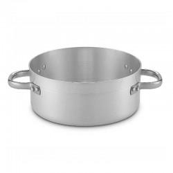 Cazuela baja profesional de aluminio SIN tapa  para hostelería