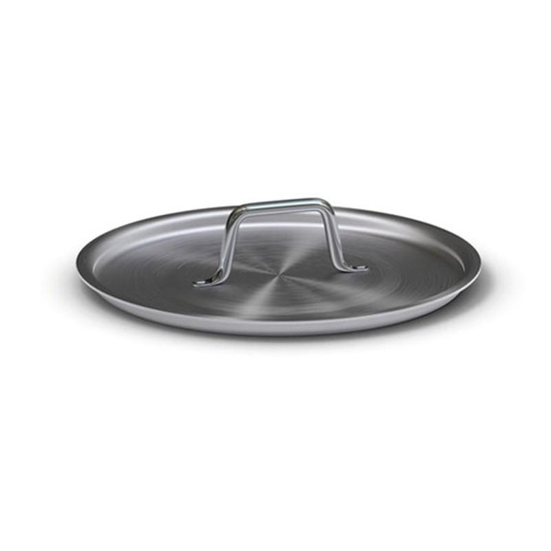 Tapa de aluminio con asa inox remachada para ollas y cazuelas de aluminio