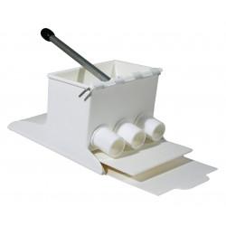 Máquina para realizar croquetas perfectas