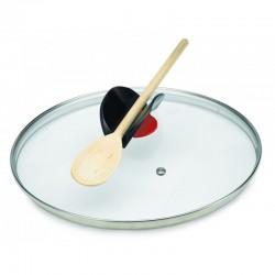Juego 3 Ollas apilables y antiadherentes con tapas de Click and Cook