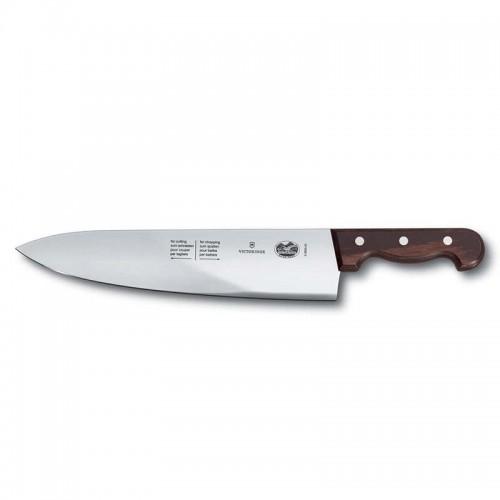 Cuchillo especial para golpe y corte de 33 cm. y mango de madera prensada