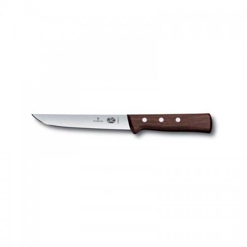 Cuchillo para deshuesar de 15 cm. de hoja recta y mango de madera