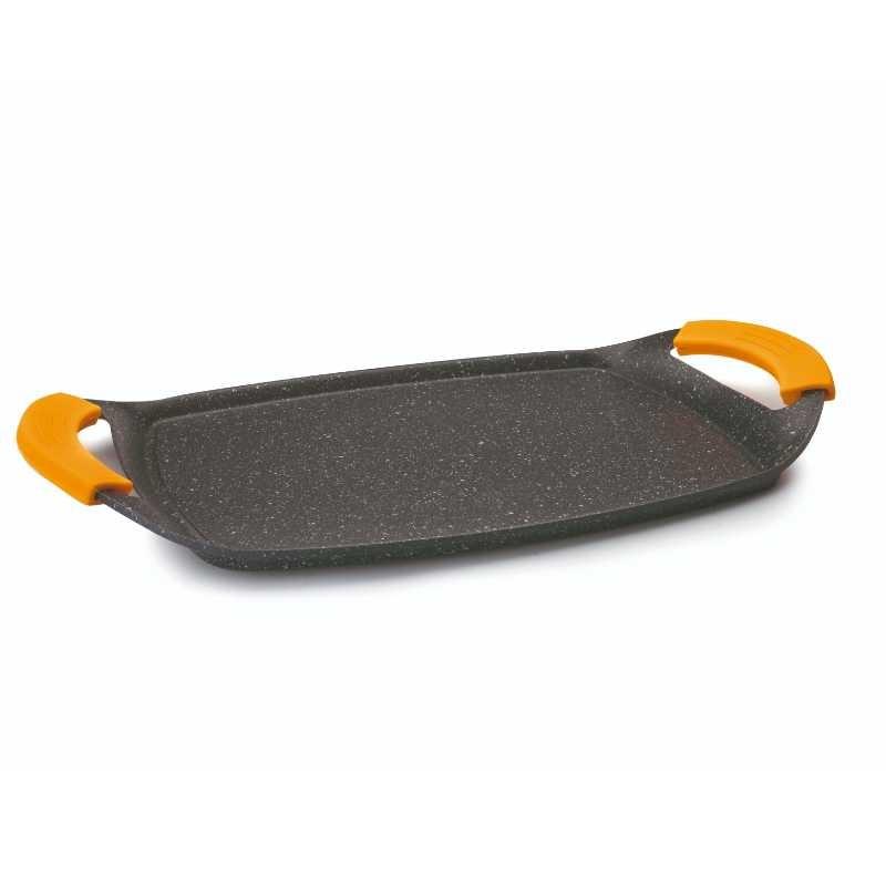 Cuerpo de plancha sin mango con triple capa antiadherente libre de PFOA