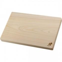 Tabla de corte para cocina de madera Hinoki grande