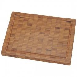 Tabla de corte de madera de bambú pequeña