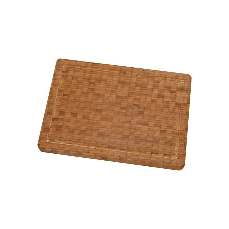 Tabla de corte de madera de bambú mediana