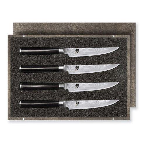 Set de 4 cuchillo de carne Kai Shun Classic.
