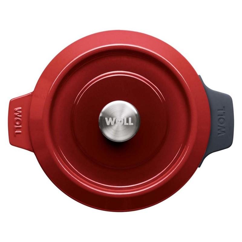 Cacerola media profesional en acero inoxidable 18/10 medidas 20 a 60 cm.