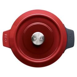 Olla recta industrial para hostelería en acero inoxidable 18/10 medidas de 20 a 60 cm.