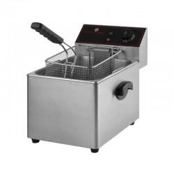 Freidora eléctrica profesional de 8 litros
