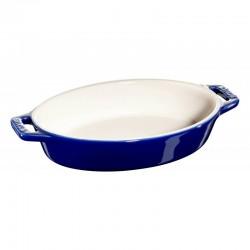 Fuente ovalada para hornear de cerámica de 23 cm.