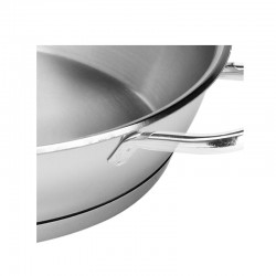 Paellera de acero inoxidable de 24 a 36 cm.