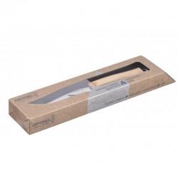 Cuchillo carnicero de punta ancha y mango de madera de 20 y 36 cm.