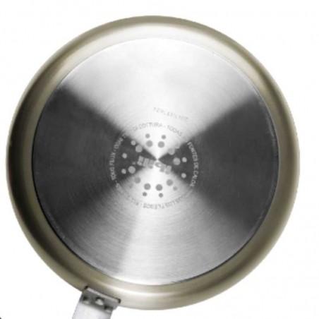 Hervidor de pasta profesional inox 18/10 de 2 secciones sin tapa