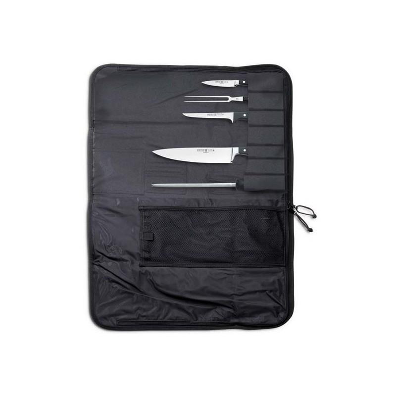 Estuche para almacenamiento de cuchillos de cocina 12 piezas wusthof - Fundas para cuchillos de cocina ...