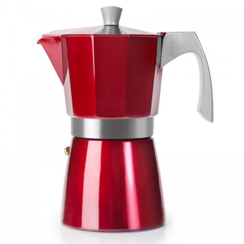 Cafetera Express Evva Red especial inducción