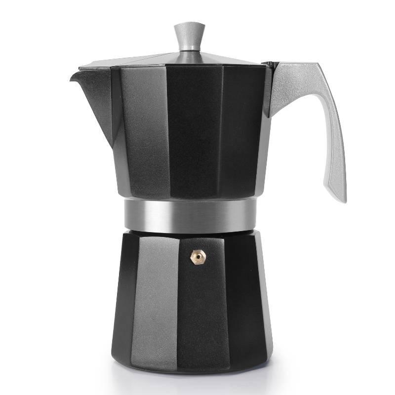 Cafetera Express Evva Black especial inducción