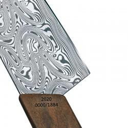 Bandeja de aperitivo de acero inoxidable redonda de 27 cm.