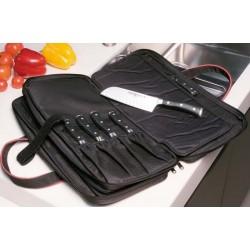 Maletín de cocinero para 20 cuchillos + accesorios