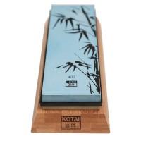 Piedra de afilar Kotai grano 400/1000 con soporte y guía
