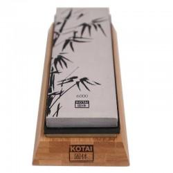 Piedra de afilar de doble cara Kotai de grano fino 1000 y lado ultrafino 6000