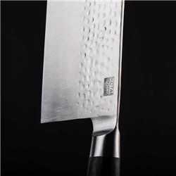 Cuchillo carnicero Kotai de 19 cm, hoja ancha macheta china