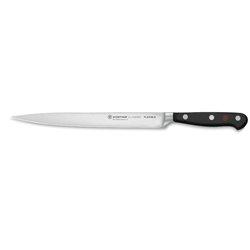 Pinza profesional Rubis de punta oblicua roja