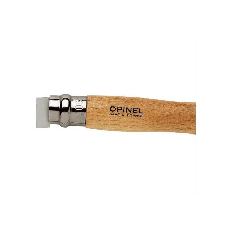 Navaja con hoja inoxidable de 9 cm. y madera de haya la Opinel nº 9
