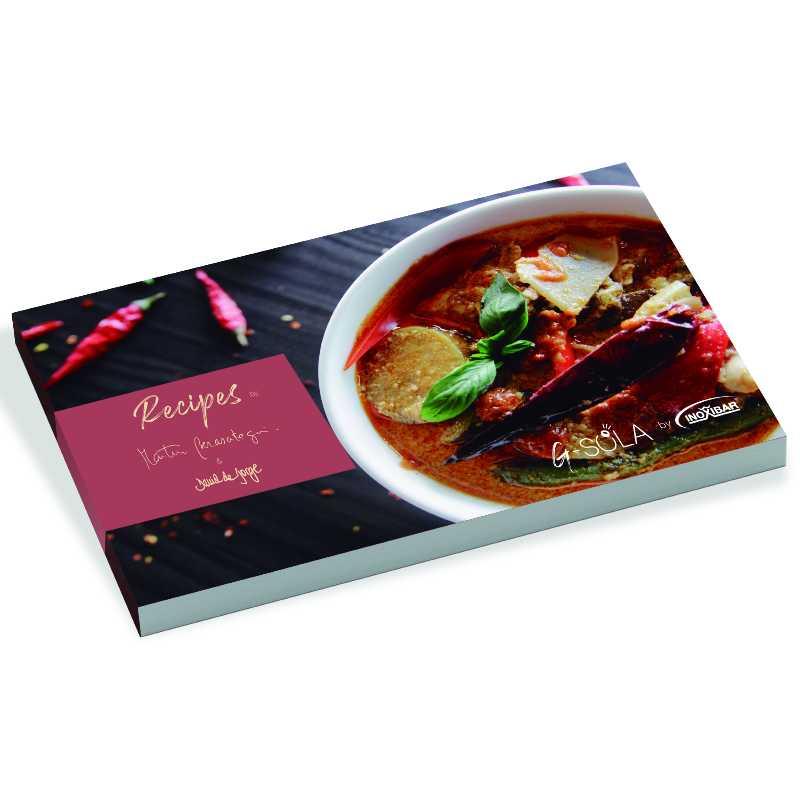 Llauna de arroz con bandeja presentación