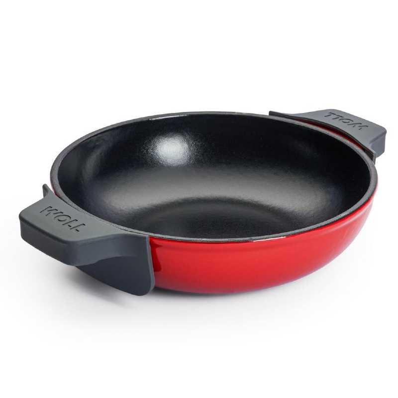 American Grill cuadrado de hierro fundido