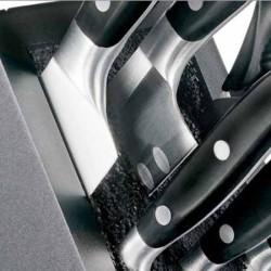 Maquinilla de afeitar clásica Mühle R106 peine cerrado y mango resina negro