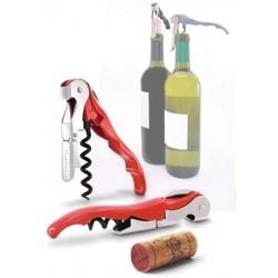 Sacacorchos de camarero de doble palanca clásico para vino