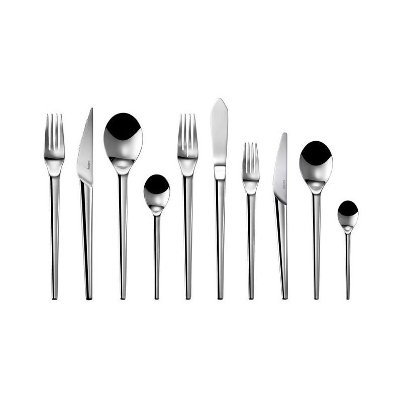 Cubertería set de mesa acero inoxidable 18/10 colección Senso